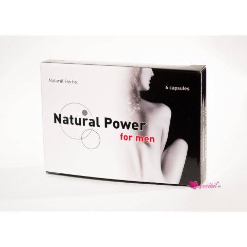 Natural P. For Men Kapszula Férfiaknak 6db
