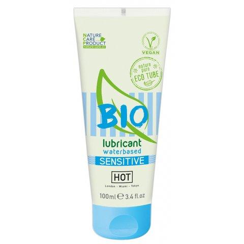 HOT Bio Sensitive - vegán vízbázisú síkosító (100ml)
