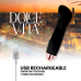 DOLCE VITA RECHARGEABLE VIBRATOR ONE BLACK 10 SPEED