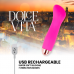 DOLCE VITA RECHARGEABLE VIBRATOR ONE PINK 10 SPEED