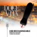 DOLCE VITA RECHARGEABLE VIBRATOR FIVE BLACK 10 SPEEDS