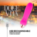 DOLCE VITA RECHARGEABLE VIBRATOR FIVE PINK 10 SPEEDS