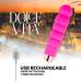 Dolce Vita VI. vibrátor 10 vibrációs móddal - rózsaszín