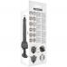 BASECOCK hajlítható élethű vibrátor tavirányítóval 21 cm - fekete