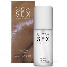 SLOW SEX TELJES TEST MASSZÁZSOLAJ 50 ML