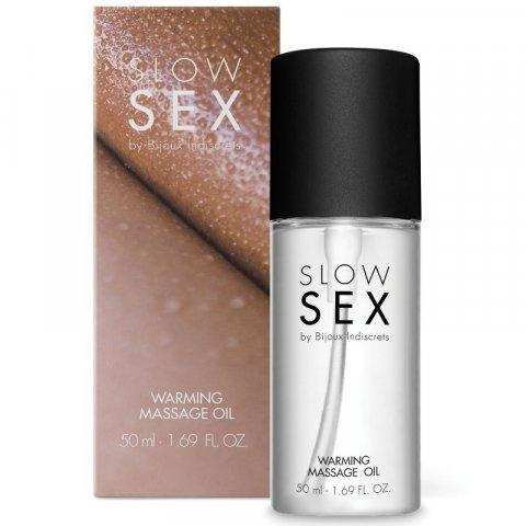 SLOW SEX MELEGÍTŐ MASSZÁZS OLAJ 50 ML