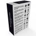 BLACK&SILVER Kailan Rúdvibrátor 10 fokozattal - fehér