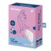 Satisfyer Love Triangle - okos, akkus, vízálló csiklóizgató vibrátor (fehér)