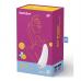 Satisfyer Curvy 1+ - okos, akkus, vízálló csiklóizgató vibrátor (fehér)
