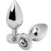 Metalhard clear diamond rozsdamentes acél análkúp - kicsi