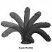 Cock Miller felcsatolható dildó hámmal, 19.5cm - fekete