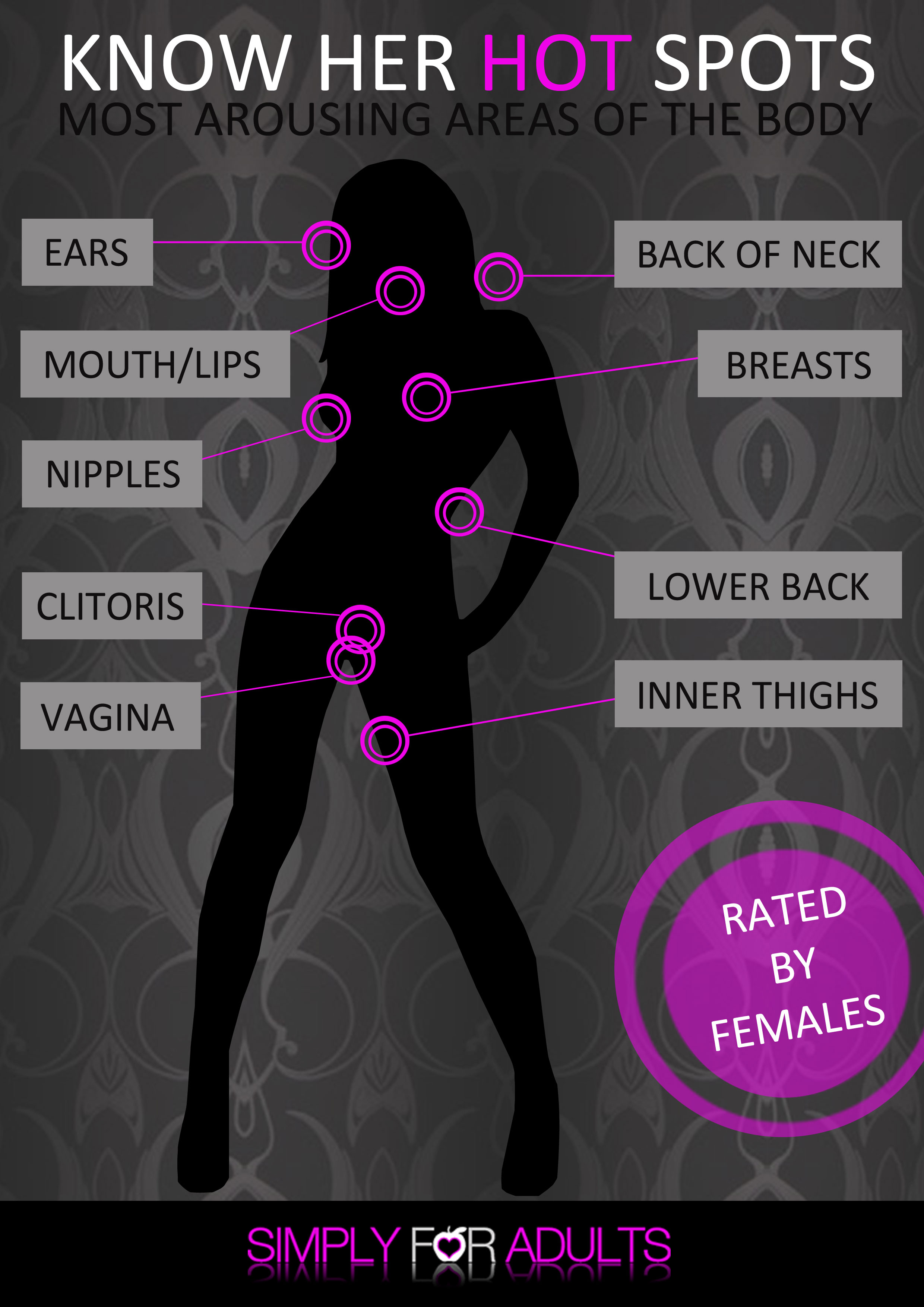 Top 10 női erogén zóna: A legérzékenyebb pontok, egyenesen az orgazmusig! 3